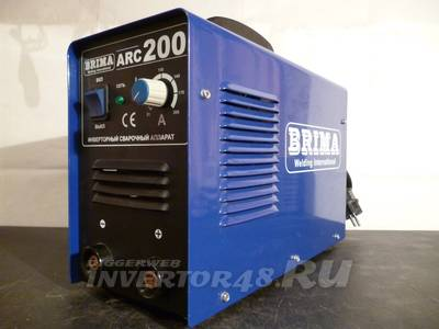 инвертора BRIMA ARC-200 v1