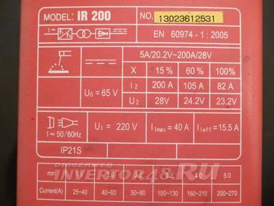 инструкция Fubag Ir 180 - фото 8