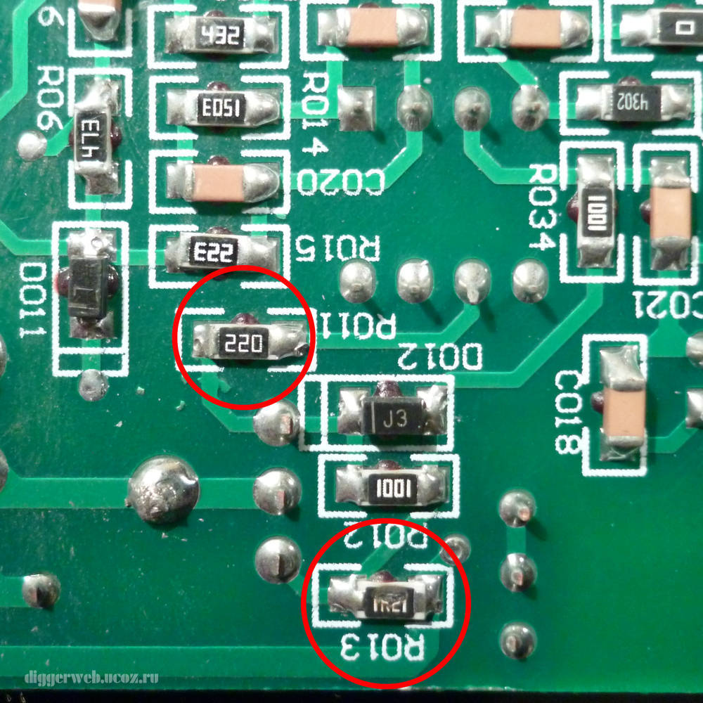 Ремонт резистора своими руками